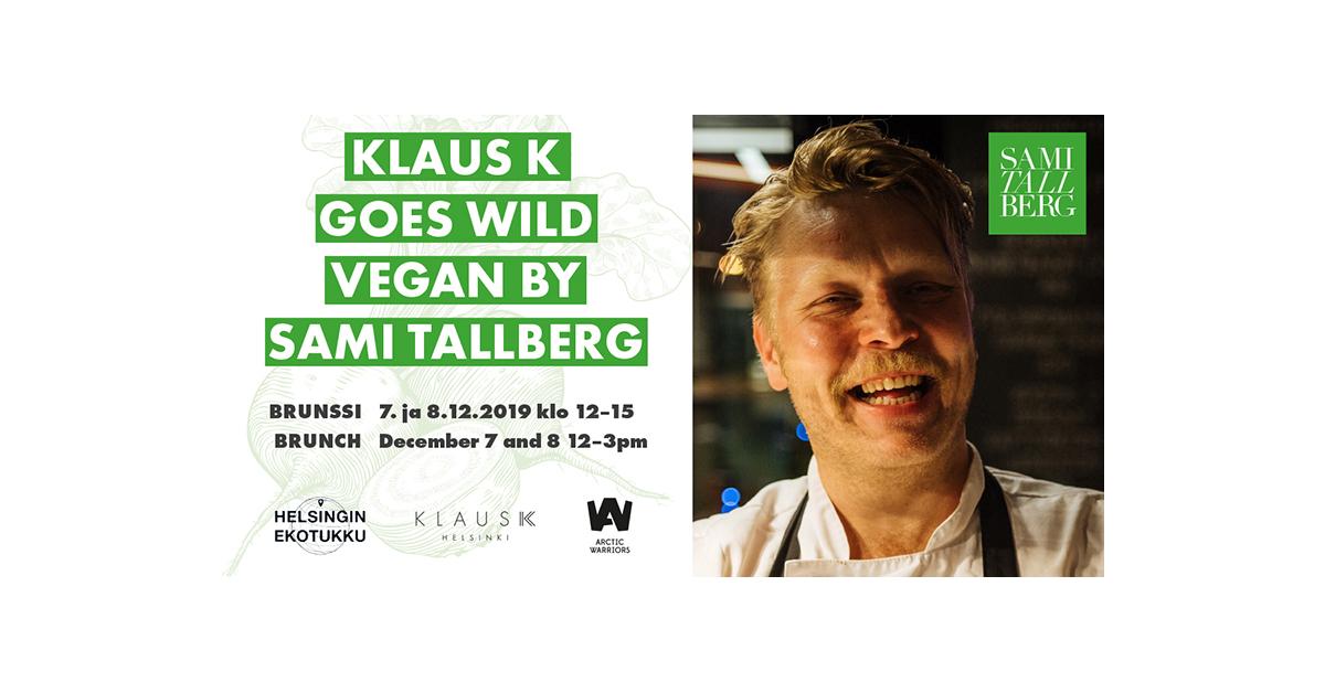 Klaus K goes Wild Vegan