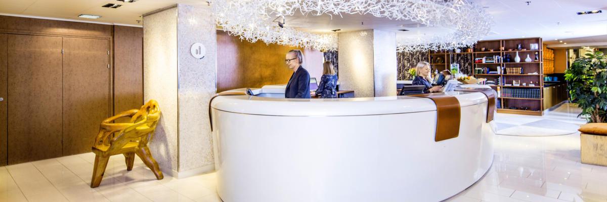 Klaus K hotel reception