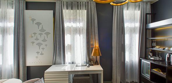 Hotel room, Helsinki, Sky Studio