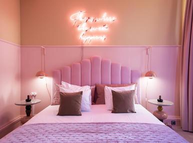Sweet Suite, valio, jäätelöfabriikki, design hotel, jäätelöhuone