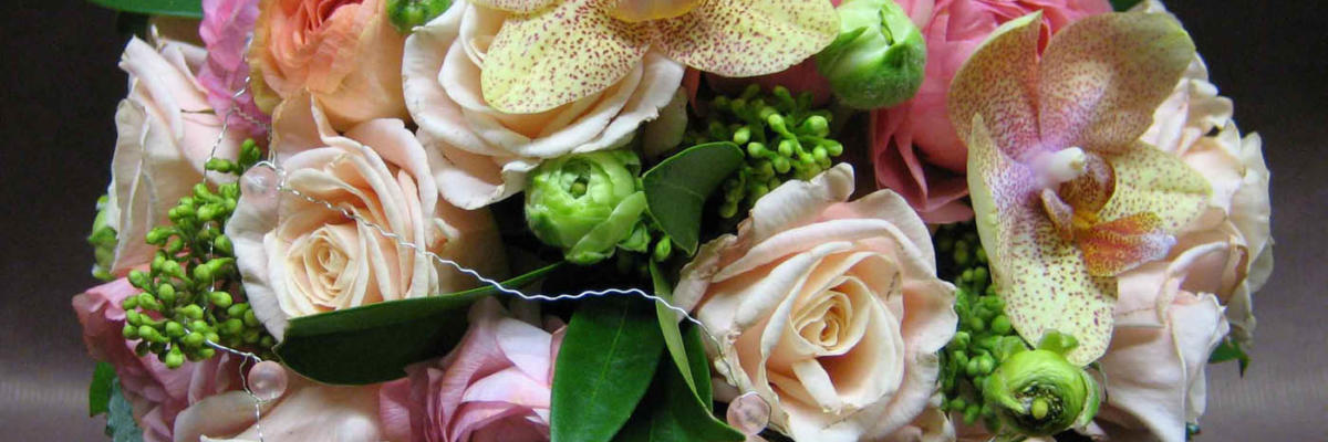 Wedding bouquet, flowers, Rake Hall, Helsinki